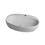 Circle 60 over counter washbasin 1 tap hole