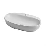 Circle 70 over counter washbasin 1 tap hole
