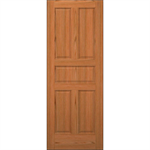 5 Panel Wood Door  - Interior Commercial / Residential with Fire Options - K5500