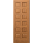 12-Panel Wood Door - Interior Commercial / Residential with Fire Options - K3220