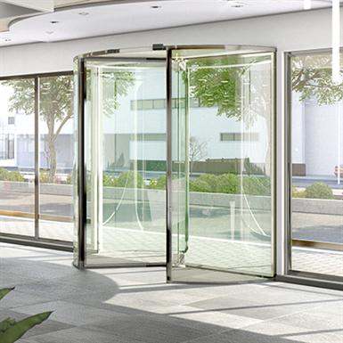 Assa Abloy Rd300 3w Compact Glass Revolving Door Glass Assa Abloy