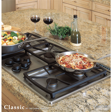 Dacor 463630 Classic Gas Cooktops Blackstainless Steel Dacor