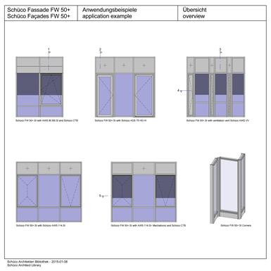 sch co fassade fw 50 si sch co kostenfreie bim. Black Bedroom Furniture Sets. Home Design Ideas