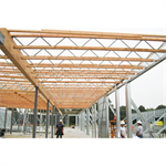 "Parallel Profile Open-Web Trusses, Red-L™, Red-W™, Red-S™, Red-M™ and Red-H™, 10' to 120' Lengths, 14"" to 72"" Depth"