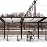 Mobilia, bicycle shelter, extension section