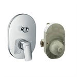 Logis Single lever bath mixer set for concealed installation 71409000