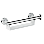 26328400 Raindance Select S Grab bar Comfort with shelf and shower holder