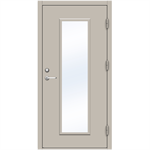 Steel Door SDE4210 GS1F - Single