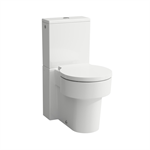 VAL Floorstanding WC for cistern, rimless