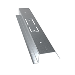 Fastening plate for LTP45 roofs