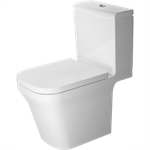 P3 Comforts Toilet close-coupled Duravit Rimless¨ 216301