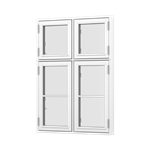 Forma Premium window 4 casement side opening