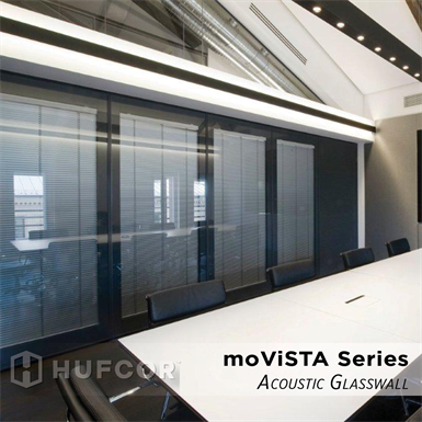 moViSTA Acoustic Glass Wall