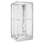 Shower cabin NACC - chrome
