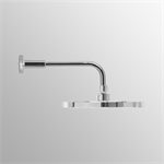 AQUA M1 SH/HEAD 200MM CHR WALL/ARM300