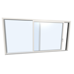 LIFT-SLIDING DOOR KS 430 Modell A UPVC & UPVC/ALUMINIUM