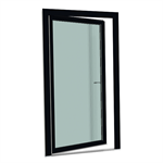 S9000 Single-leaf turn tilt balcony door with threshold