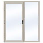 Steel Door SD4220 P65 EI30 Single-Right