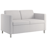 Wieland Rally Embrace Arm Style Loveseat, Available in Mid-Back Height