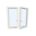 Window double UPVC-ALU Internorm KF310 Model 3