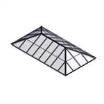 Extended Pyramid Skylight – Glass