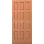 12-Panel Wood Door - Interior Commercial / Residential with Fire Options - K3120