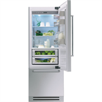 Vertigo Collection - 75 Cm Integrated Bottom Mount Refrigerator KCZCX 20750L