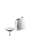 Hansgrohe Exafill S bath filler finish set