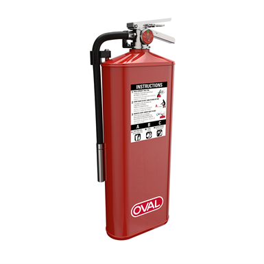 Oval Fire Extinguisher OFP-A10HABC
