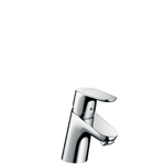 31730007 Focus Single lever basin mixer with pop-up waste set