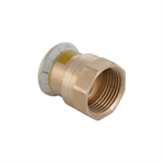 Geberit Mapress Cu Gas Adaptor with female thread