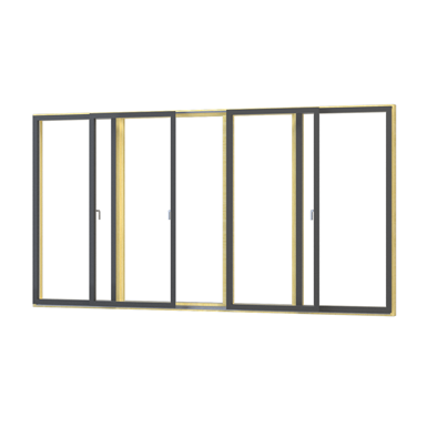 2 leaf Sliding Door 237-2 F Helo®