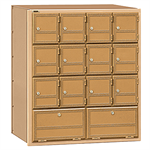 2100 Series Americana Mailboxes-Rear Loading