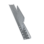 Fastening plate for concrete and clay tile roofs
