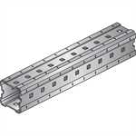 Heavy Duty Installation Channel MI / MIQ (Hot-dip galvanized) - Central Europe