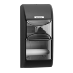 Katrin Toilet 2-Roll Dispenser - Black