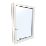 Window single UPVC-ALU Internorm KF410 1