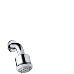 Hansgrohe Clubmaster 3jet overhead shower with shower arm
