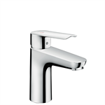 71161000 Logis E Single lever basin mixer 100 with pop-up waste set