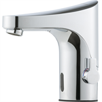 9000E Tronic Basin Mixer with temperature handle