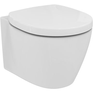 Ideal Standard Vaso Connect.Connect Space Seat White Cvr Std Ideal Standard Bimobject