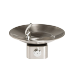 Model 1001, Stainless Steel Drinking Fountain with a Sculpted Bowl