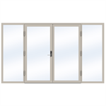 Steel Door SD4220 P65 EI30 Double-LeftRight