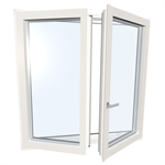 Window double UPVC-ALU Internorm KF410 5