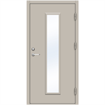 Steel Door SDE4210 GS2M - Single
