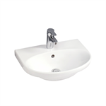 Small bathroom sink Nautic 5550 - for bolt/bracket mounting 50 cm