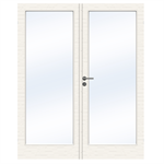 Interior Door Charisma D100 GW1 Double Unequal