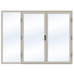Steel Door SD4220 P50 Double-Left