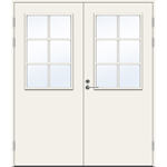 Exterior Door Balcony PO1894 W12 Double