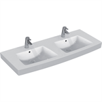 21/VENTUNO LAVY VANITY TOP 130 DB WHT IP